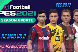 RZ Mods Season 2021 (NSP Patch) Update V8 - PES 2017