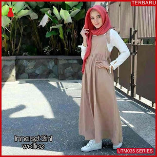 UTM035I111 Baju Inna Muslim Set Dewasa 2in1 UTM035I111 023 | Terbaru BMGShop