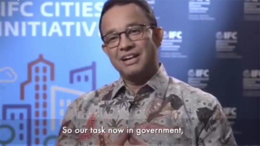 Anies Baswedan - Jakarta kota terbaik dunia
