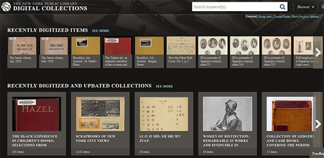 The NYPL Digital Collections: eAskme