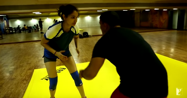 Anushka Sharma, taking wrestling lessons for 'Sultan'.