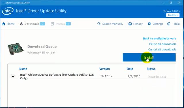 تحميل وتثبيت وشرح برنامج IntelR Driver Update Utility آخر إصدار