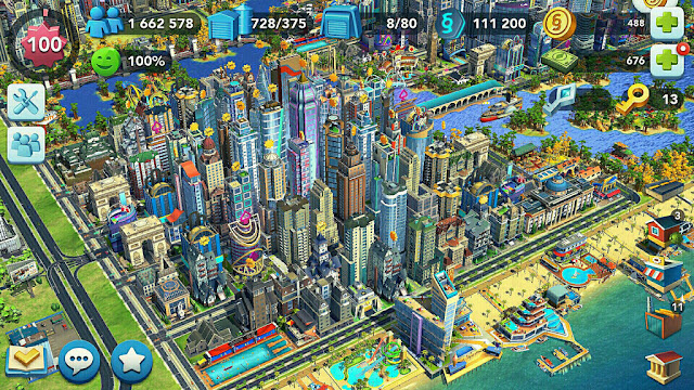 SimCity BuildIt MOD cho Android