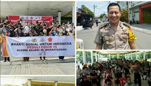 Alumni AKABRI 96 Bhakti Sosial Untuk Indonesia Peduli Covid 19