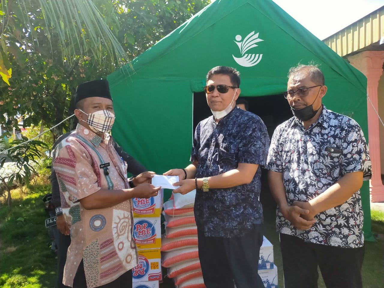 Ketua DPD LPM Kota Padang Irwan Basir Datuk Rajo Alam, SH, MM, Ingatkan Waspada Bahaya Kebakaran