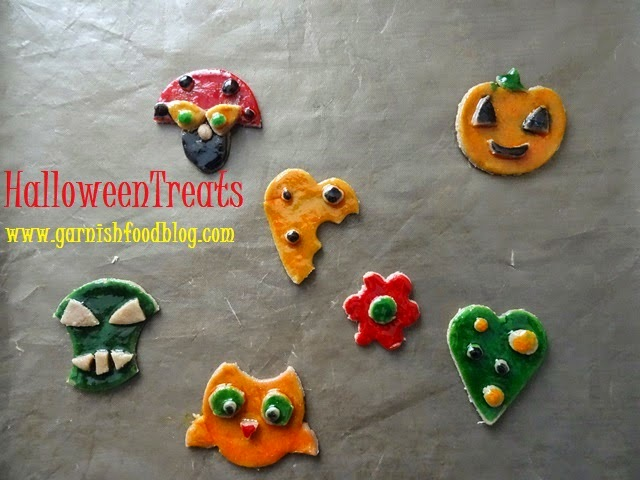 halloween pumpkin cookie, owl cookie