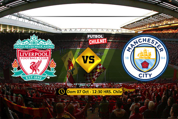 Mira Liverpool vs Manchester City en vivo y online por la Premier League