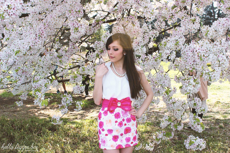 cherry blossoms, gaijin gyaru, agejo