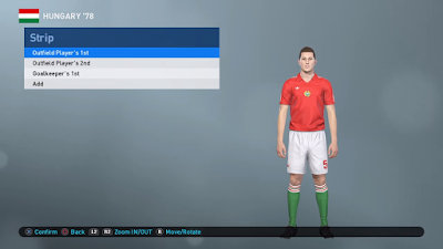 PES 2019 PS4 Classic Option File FIFA World Cup 1978 by Zsolt72