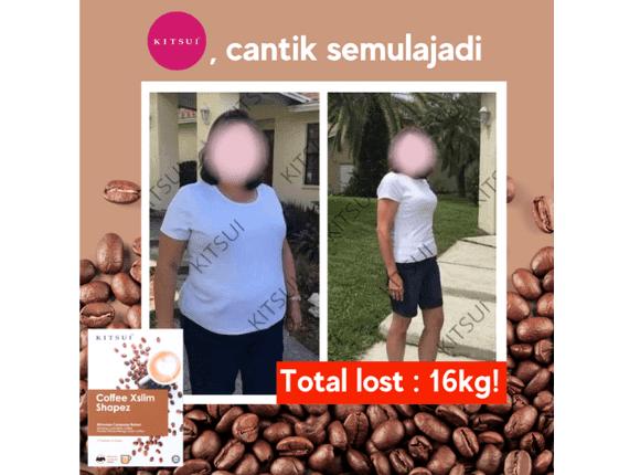 Testimoni Pengguna  Kitsui Coffee Xslim Shapez 1