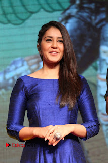 Raashi Khanna Pictures at Supreme Success Meet ~ Bollywood and South Indian Cinema Actress Exclusive Picture Galleries