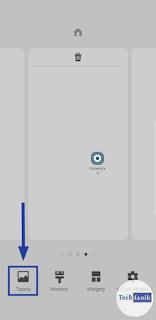Samsung Opcje ekranu głównego tapety