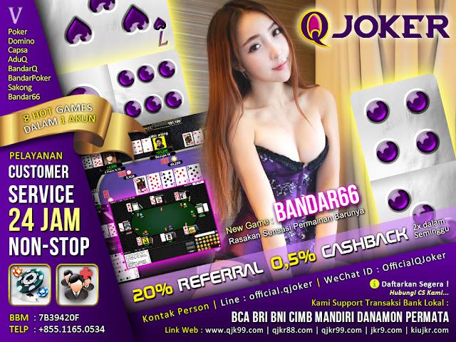 Image of Tips/Trick Menang Judi Bandar66 Online QJoker