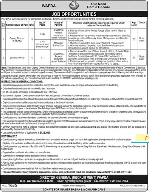 wapda-jobs-lahore-pts-application-form-2020
