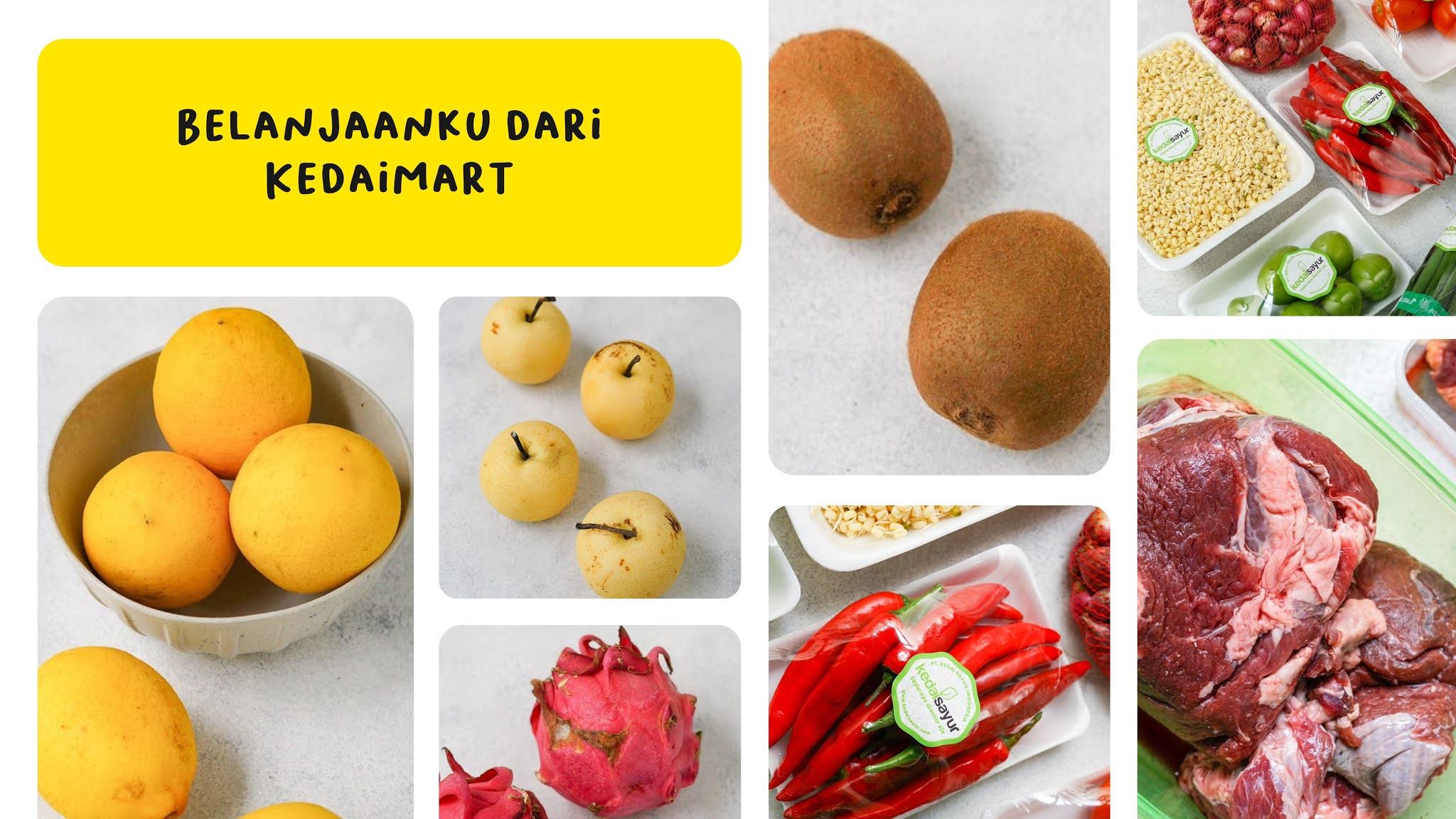 belanja sayur online di KedaiMart