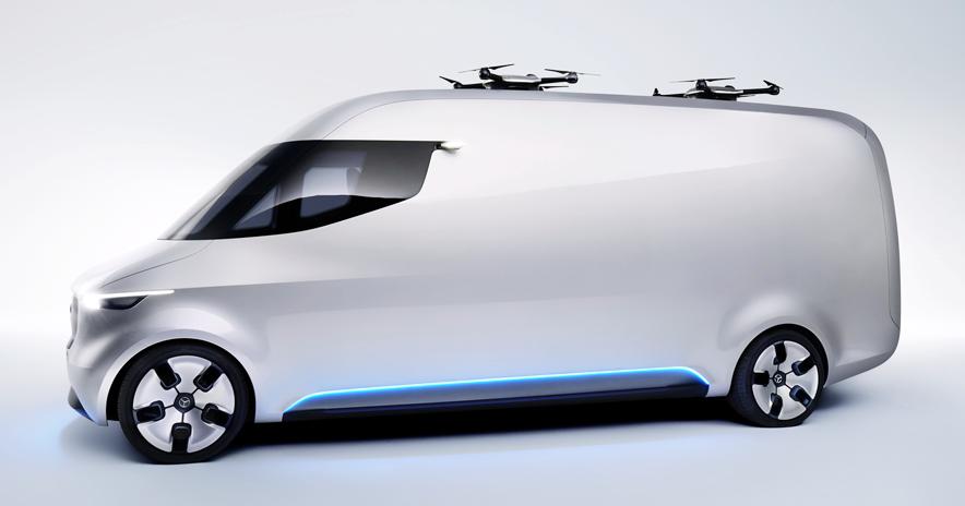 Mercedes Vision Van, le consegne del futuro
