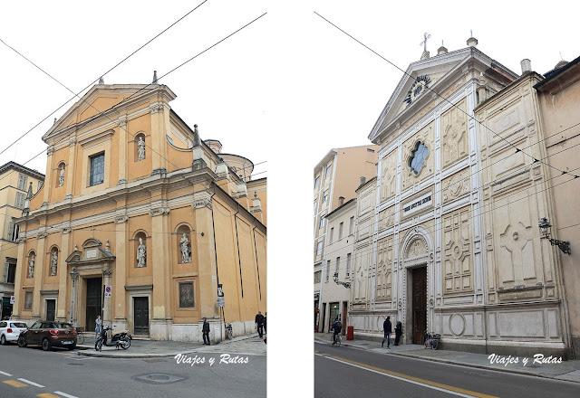 Iglesia de San Vitale y de santa Lucía de Parma