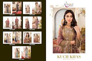 Rinaz fashion kuch Khas Georgette Pakistani Suits catalog