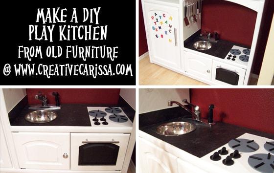 #DIYplaykitchn #creativegreenliving