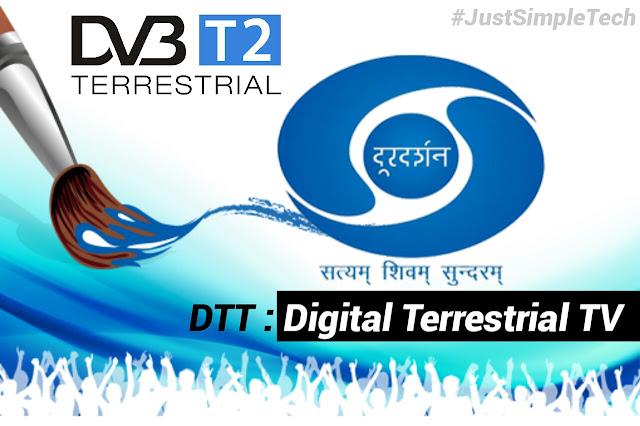 Doordarshan TV Service DTT Based On DVB-T2 Technology