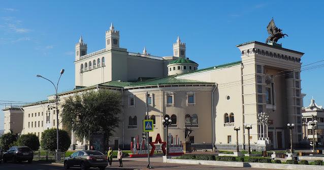 Улан-Удэ, театр оперы и балета