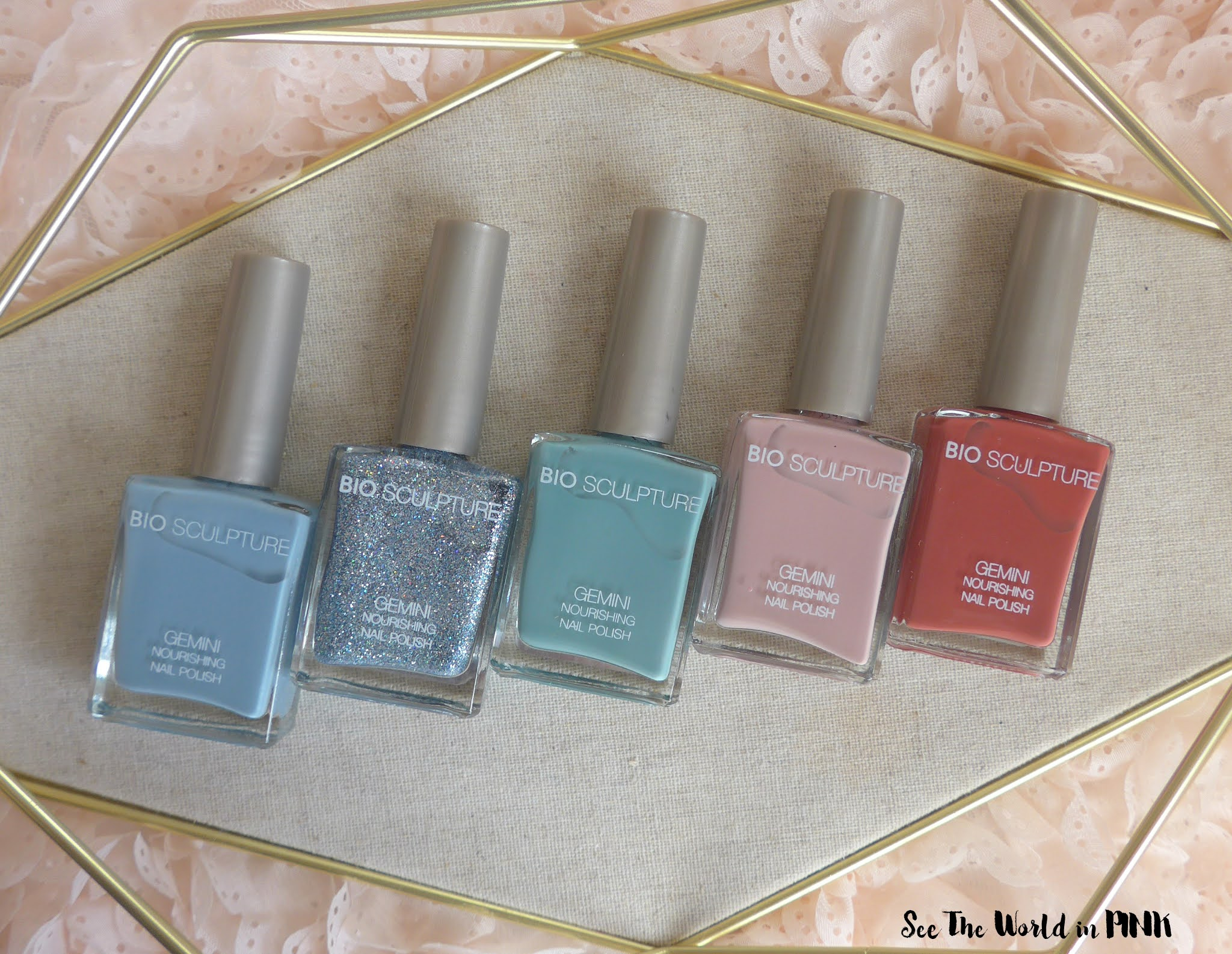Bio Sculpture Vintage Poetry Polish Collection