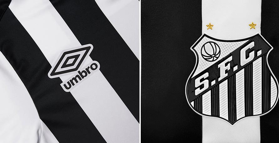 32b45a2383d Brazilian club Santos and kit supplier Umbro have launched the new 2019  away kit, which is rather classy.