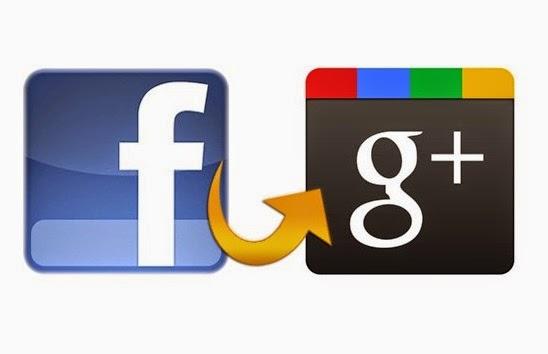 من الفيس بوك الى جوجل+