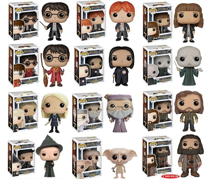 onde encontrar funkos harry potter