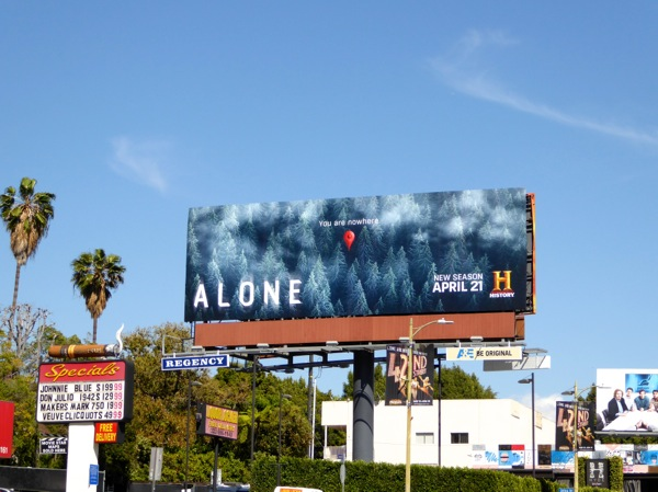 Alone season 2 billboard