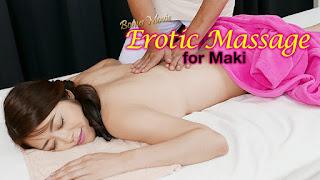 Erotic Massage for Maki Hojo