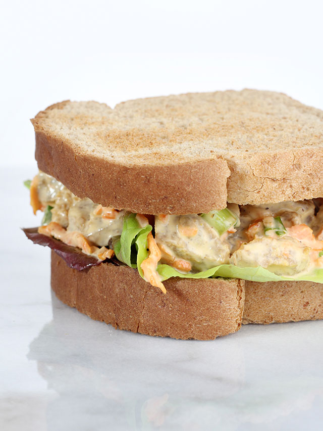 Vegan Chicken Salad Sandwich