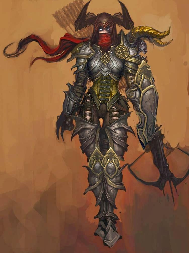 Chrix Design: Demon Hunter - Chest Armor  Chrix Design: D...