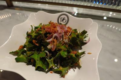 Violet Oon Satay Bar & Grill, winged bean salad