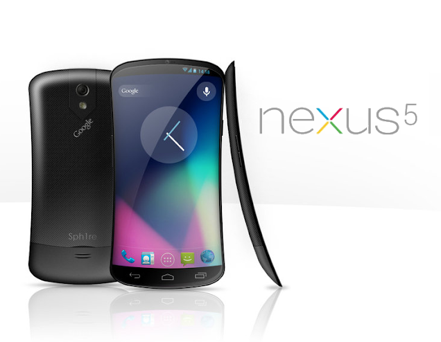 Google Nexus 5 Phone Concept Picture