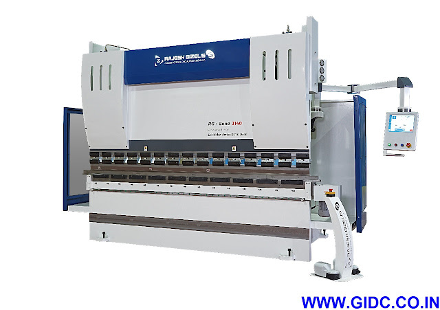 RAJESH MACHINE TOOLS PVT. LTD. CNC Press Brake - 9081055595 | 9724028080 | 9624895360