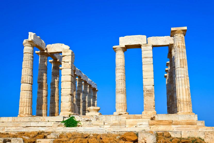 Temple of Poseidon Sounion 9