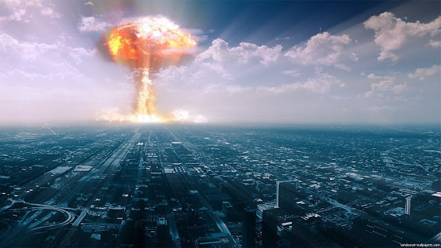 ataque nuclear e biológico