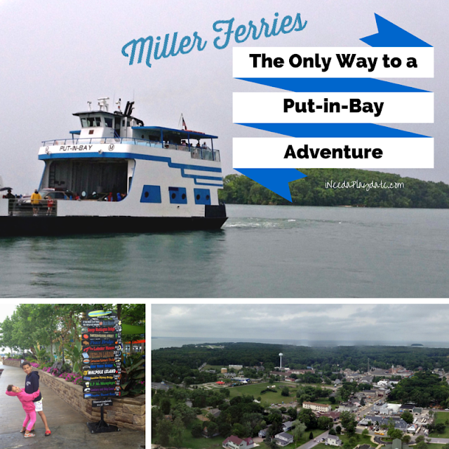Miller Boat Line, The Only Way to a Put-in-Bay Adventure #millerferry