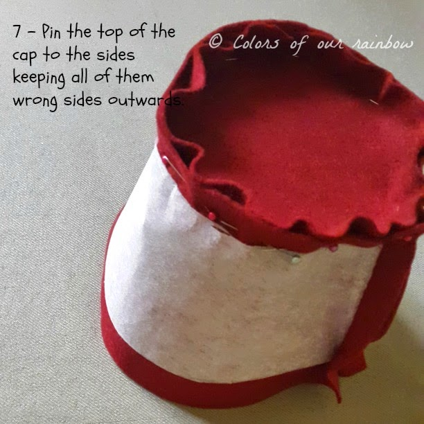 DIY FEZ HAT: @colorsofourrainbow.blogspot.ae
