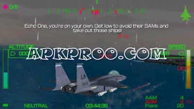 Download Game Pilot Academy PPSSPP ISO Save Data Ukuran Kecil Terbaru