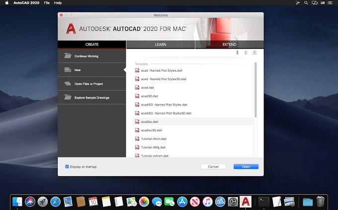 Tải về Autodesk AutoCAD 2019 – 2020 cho MacOS