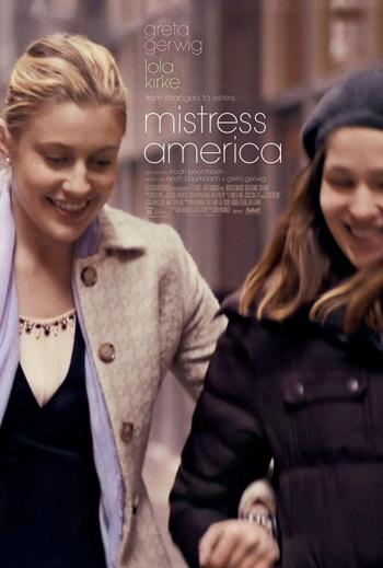 Mistress America DVDRip Latino