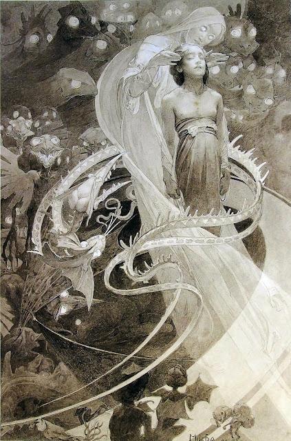 Альфонс Муха - Отче наш (1). 1899