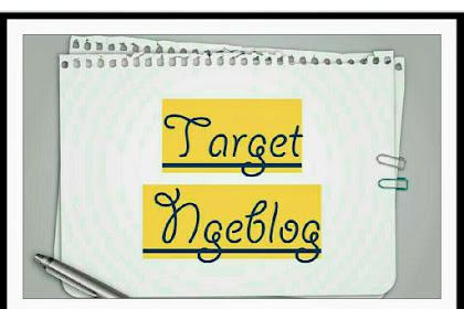 Target Ngeblog 100 Artikel Akhirnya Kesampaian