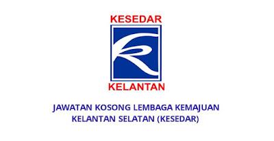 Jawatan Kosong Lembaga Kemajuan Kelantan Selatan 2019 (KESEDAR)