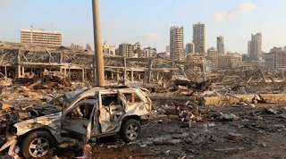 لبنان ، تفجيرات بيروت، انفجار مرفا بيروت، حربوشة نيوز