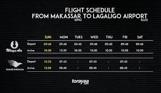 jadwal penerbangan ke palopo
