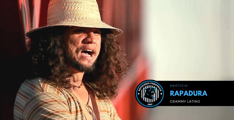 """Rapadura tem seu álbum """"Universo do Canto Falado"""" indicado ao Grammy Latino"""