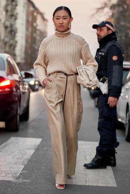 Стильный образ модные брюки 1-5